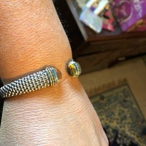 LAGOS Jewelry - Lagos- citrine Caviar cuff bracelet